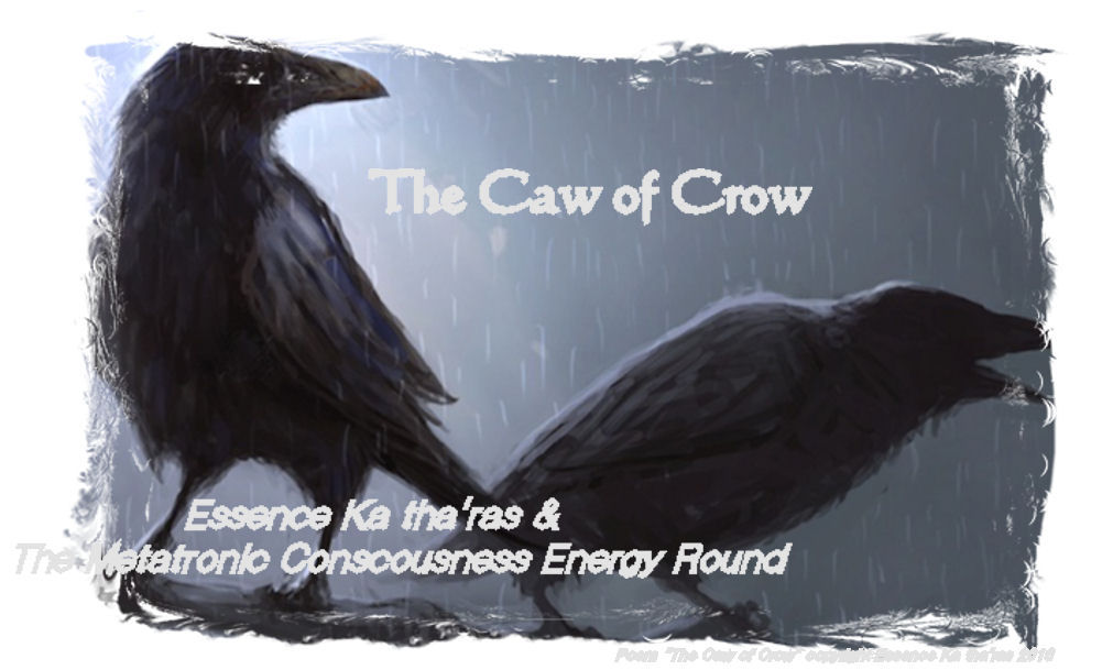 "Crow Cawed to Raven... ""Come sit with me"""