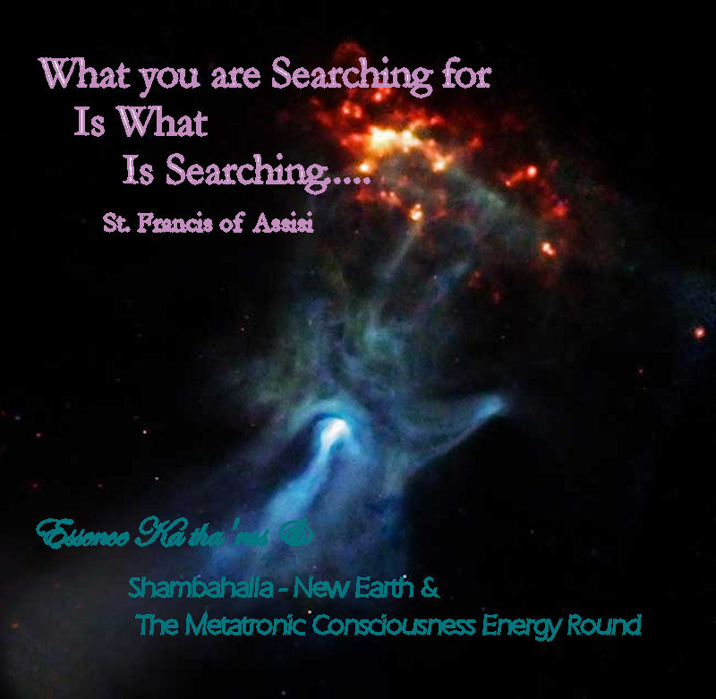 What you are Searching for Is What is Searching St. Francis of Assisi