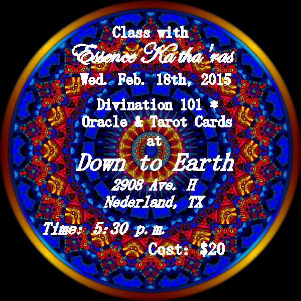 Divination Class ~ Oracle & Tarot Cards