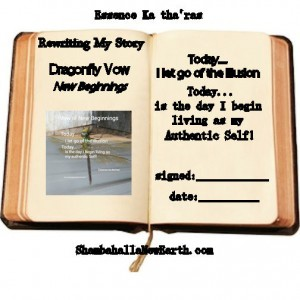 rewriting my story Dragonfly Vow