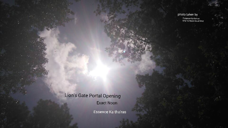 Lion's Gate 2015 Exact Noon